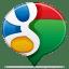 Social balloon google icon