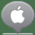 Social-balloon-apple icon