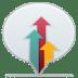 Social-balloon-designbump icon