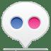 Social-balloon-flickr icon