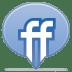Social-balloon-friendfeed icon