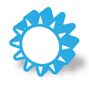 Weather sun icon
