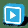 Button-dark-arrow-right icon