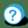 Button-round-question icon