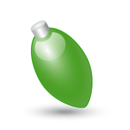 Xmas light green icon