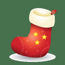 Xmas stocking icon