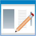 Application edit icon