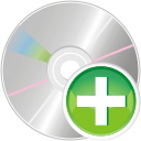 Cd add icon