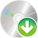 Cd down icon