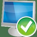 Computer accept icon