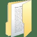 Folder full icon