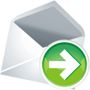 Mail next icon