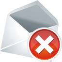 Mail remove icon