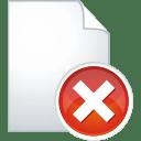 Page remove icon