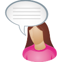 She user comment icon