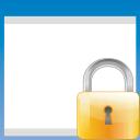 Window lock icon