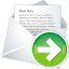 Forward-new-mail icon
