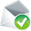 Mail-accept icon