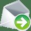 Mail-next icon