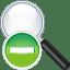 Search-remove icon