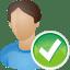 User-accept icon