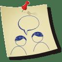 Multi user comment icon