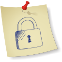 Padlock locked icon