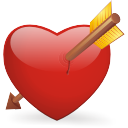 Bleeding-heart icon