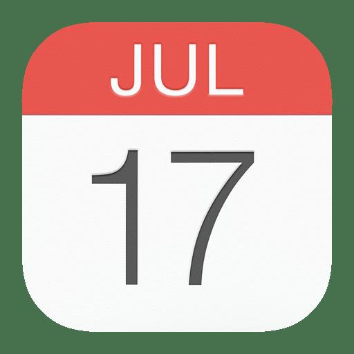 Calendar Icon | iOS 8 Iconset | dtafalonso