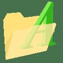 ModernXP 39 Folder Fonts icon
