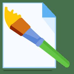 ModernXP 32 Filetype Paint icon