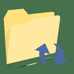 ModernXP 36 Folder Refresh icon