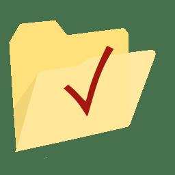 ModernXP 64 Folder Check icon