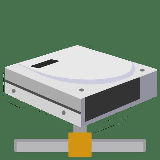 ModernXP 45 Network Drive Icon | Modern XP Iconset | dtafalonso