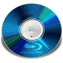Hardware Blu ray disc icon