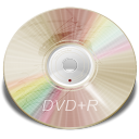 Hardware DVD plus R icon