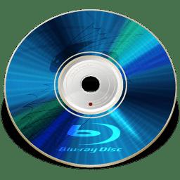 Hardware Blu ray disc icon