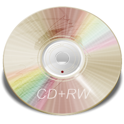 Hardware CD plus RW icon
