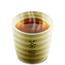 Cup 2 tea hot icon