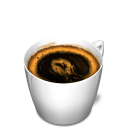 Cup 3 coffee icon