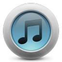 iTunes simple icon
