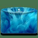 Folder-Abstract-Blue-Smoke icon