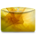 Folder Abstract Yellow icon