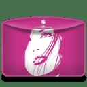 Folder Girl Pink icon
