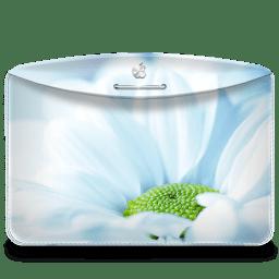 Folder Nature Flower icon