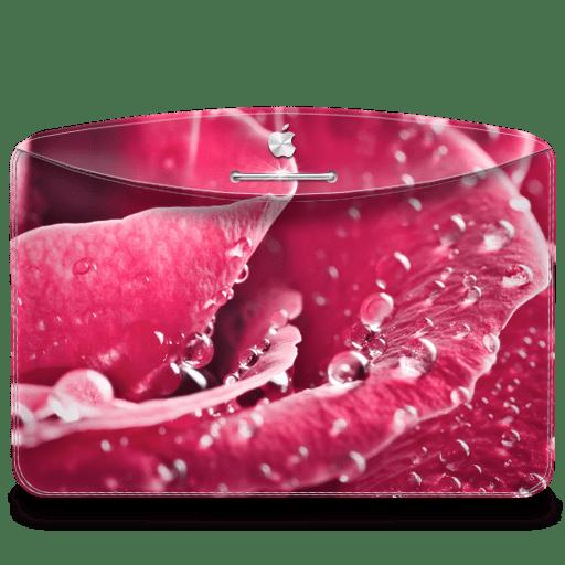 Folder-Nature-Rose icon