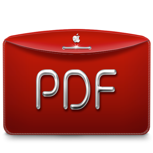 Folder Text PDF icon