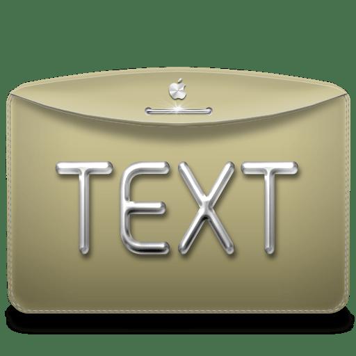 Folder-Text icon