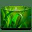 Folder Nature Leave icon