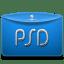 Folder Text Adobe PSD icon